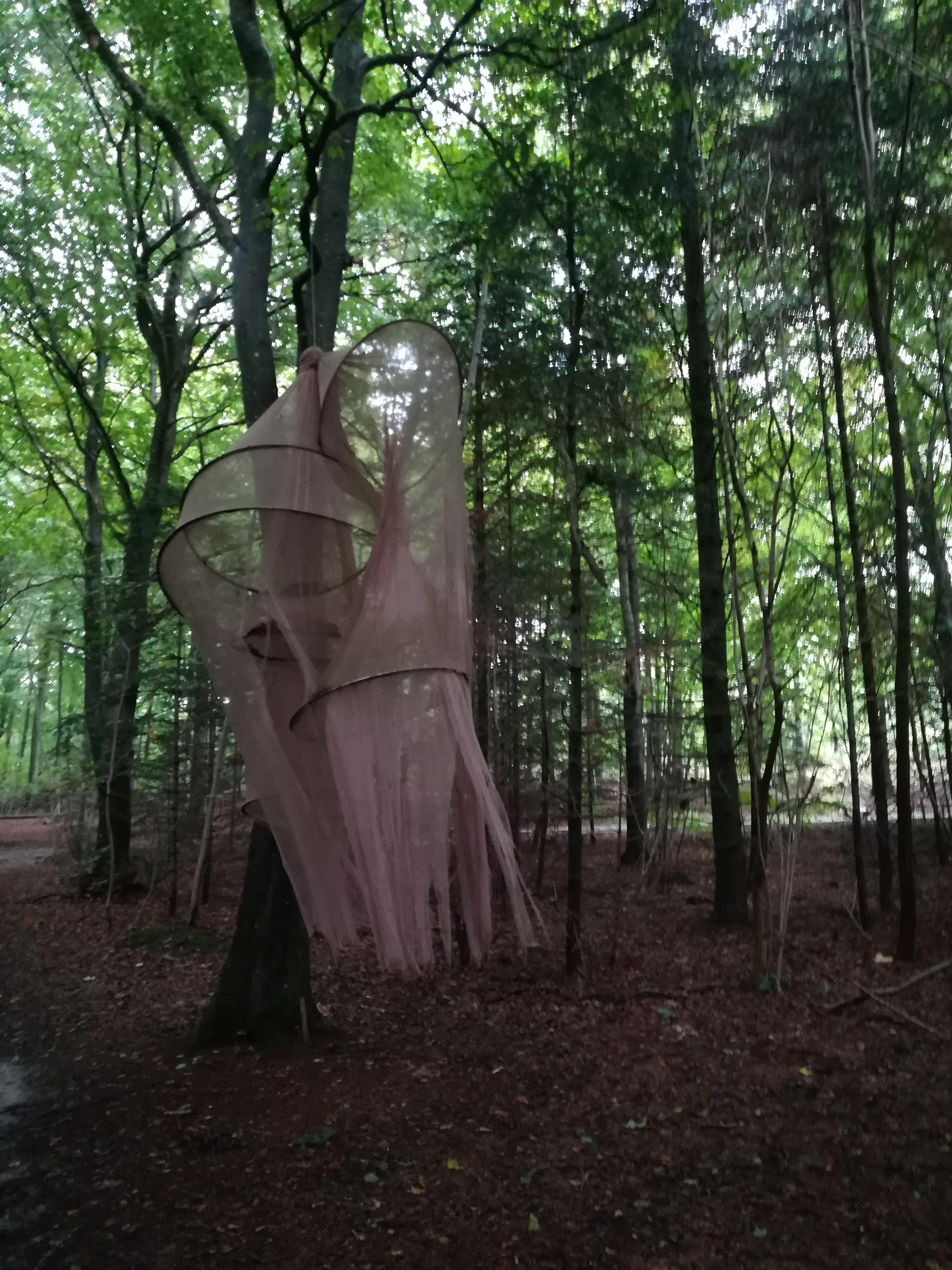 Skovsnogen, værkbillede