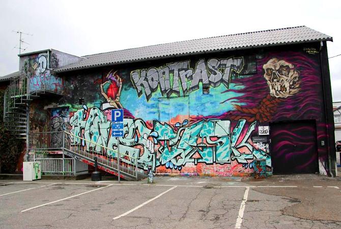 Ungdomshuset Kontrasts facade