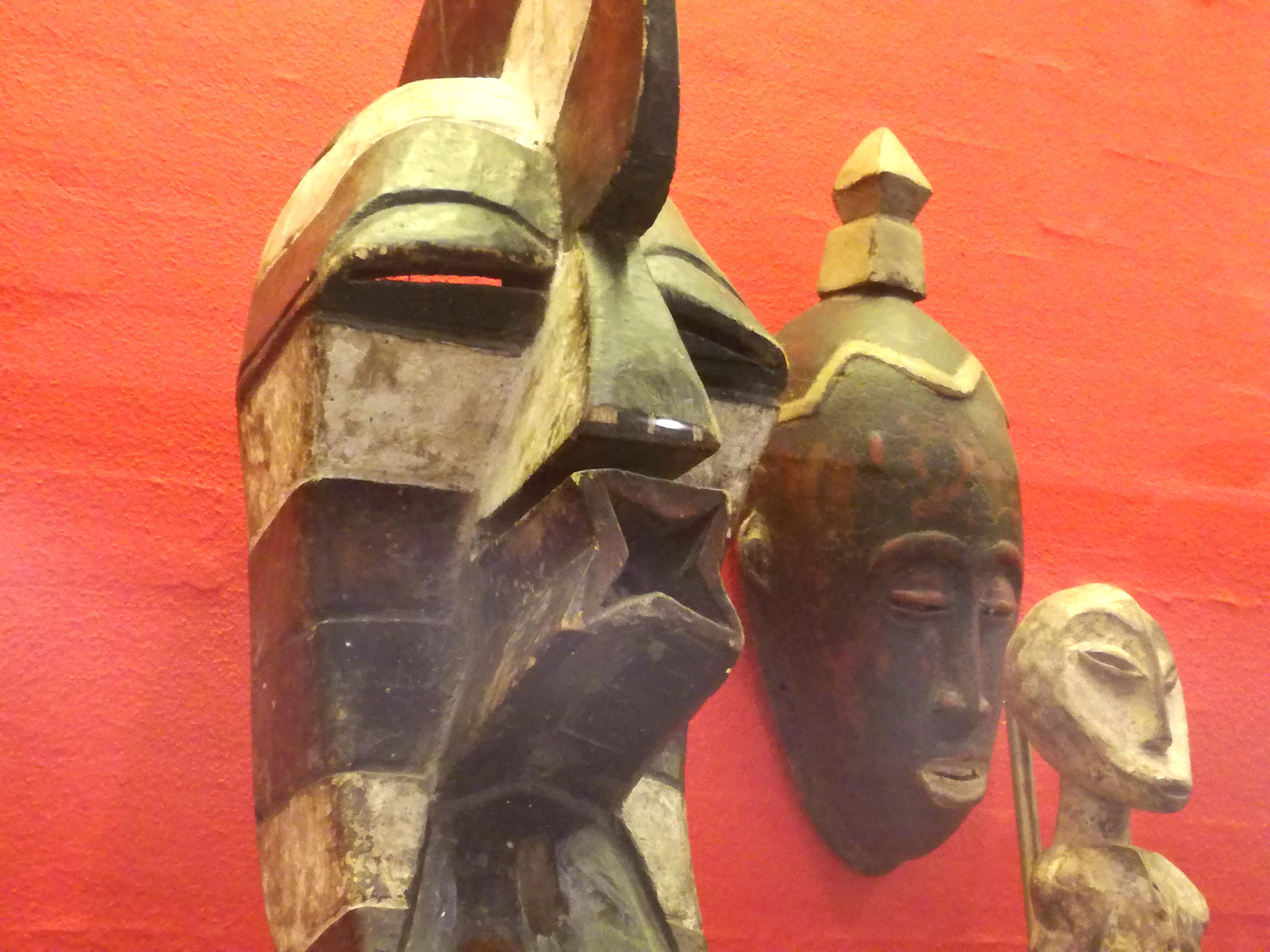 Afrikansk maske