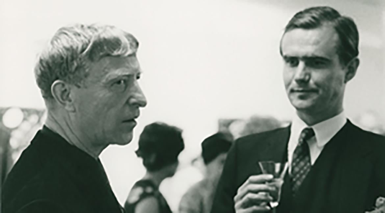 HKH Prins Henrik og Carl-Henning Pedersen, 1968