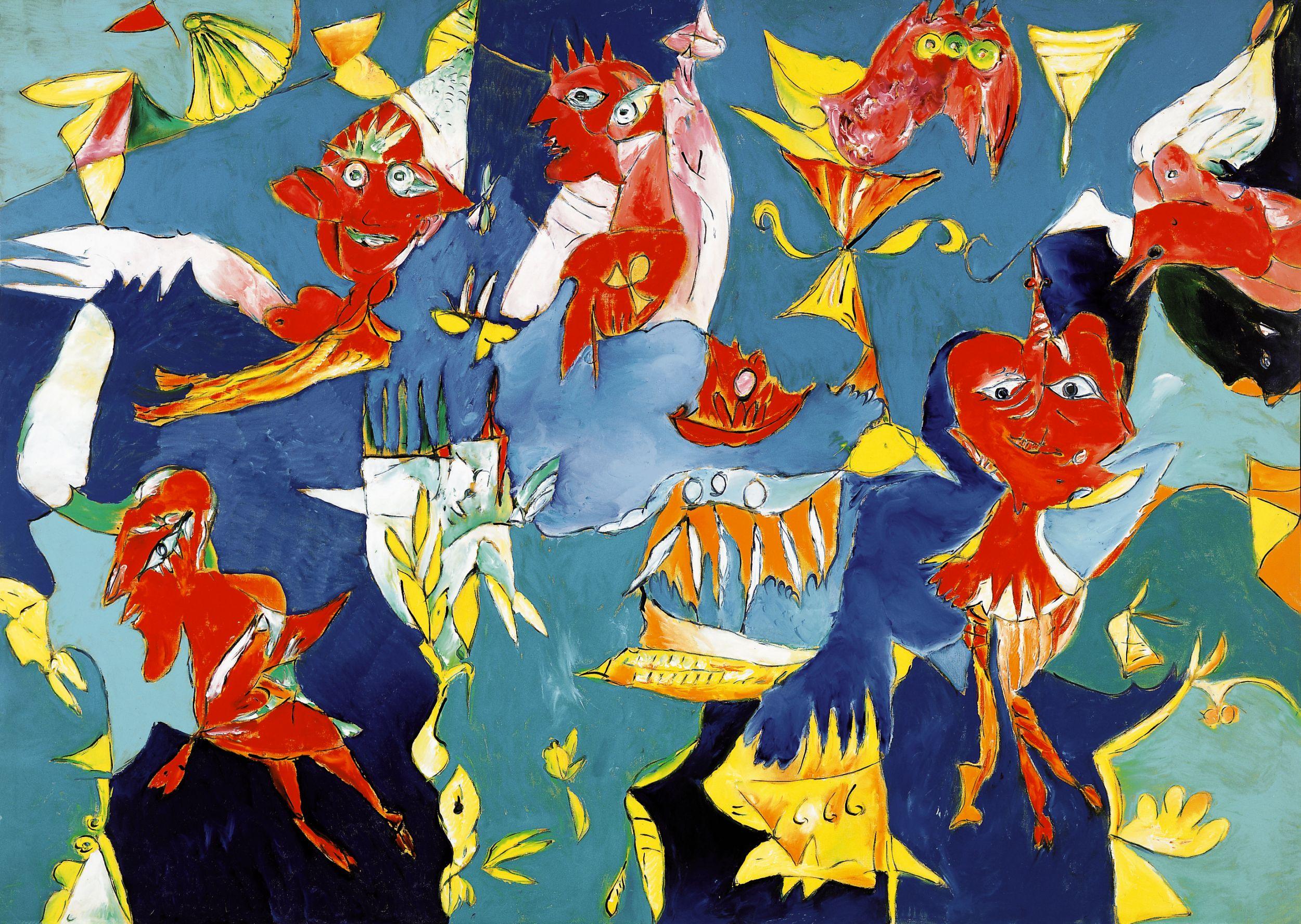 Himmelens Dansere af Carl-Henning Pedersen