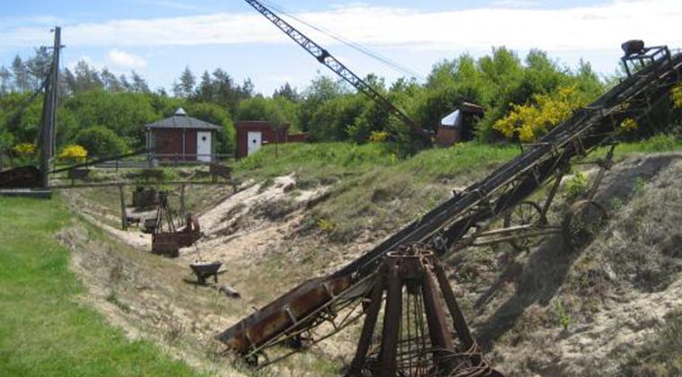 Maskiner fra Søby Brunkulsleje