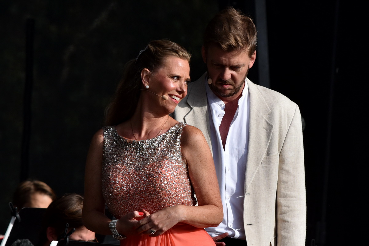 2) Lisbeth Kjærulff og Lars Møller satte gang i lattermusklerne ved sidste års operafestival i Herning. Foto: Ole Jørgensen