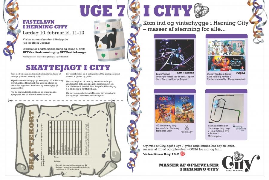 billede af plakat for uge 7 i City