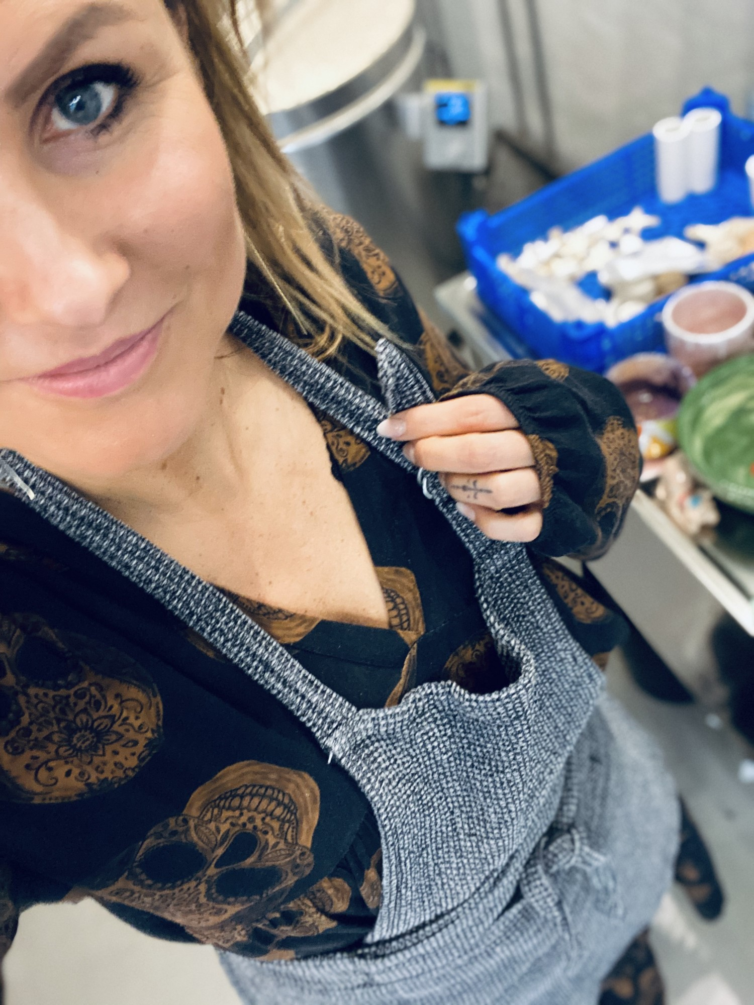 Diana Bach Bak - selfie med forklæde