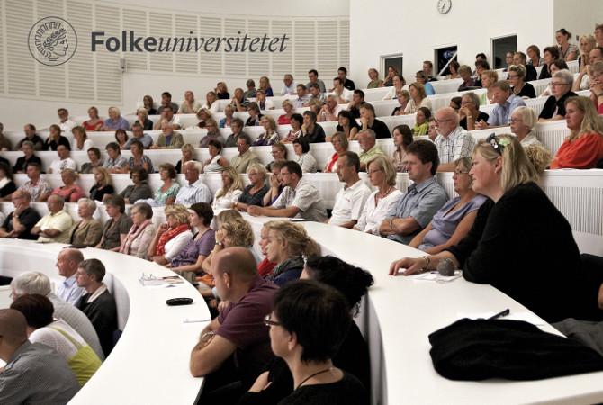 Tilhørere til forelæsning Folkeuniversitet