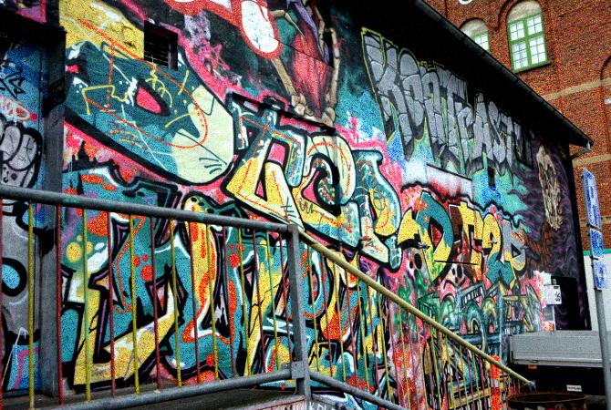 Grafitti Kontrast Herning