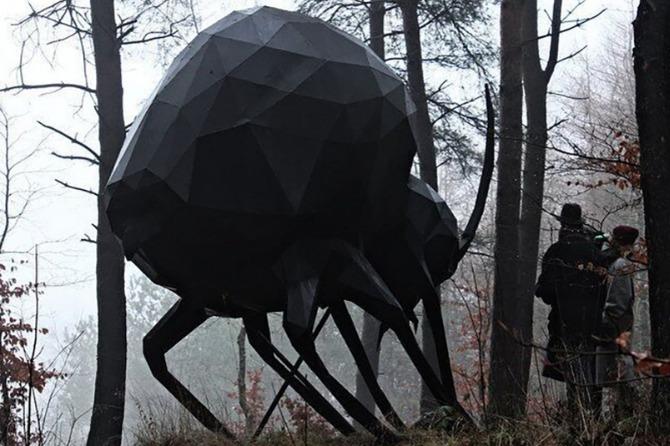 Kunstværk fra Skovsnogen