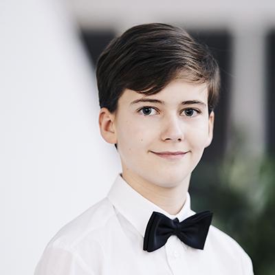 Søren Moesgaard Nielsen, sanger i Herning Kirkes Drengekor