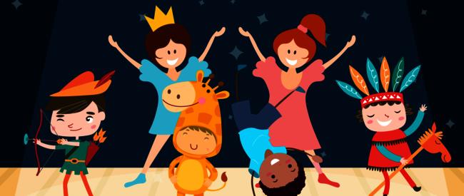 Børneteaterillustration