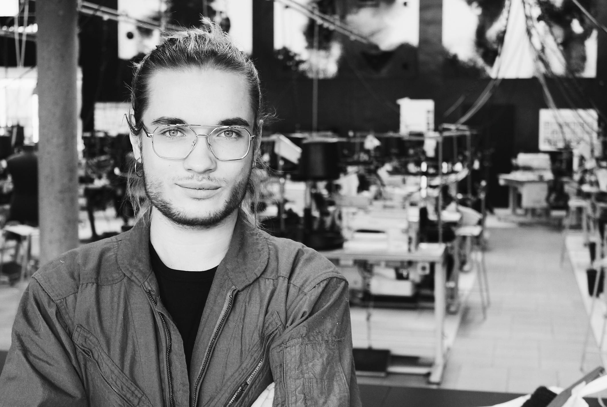 Mikkel Dons, studerende i Birk