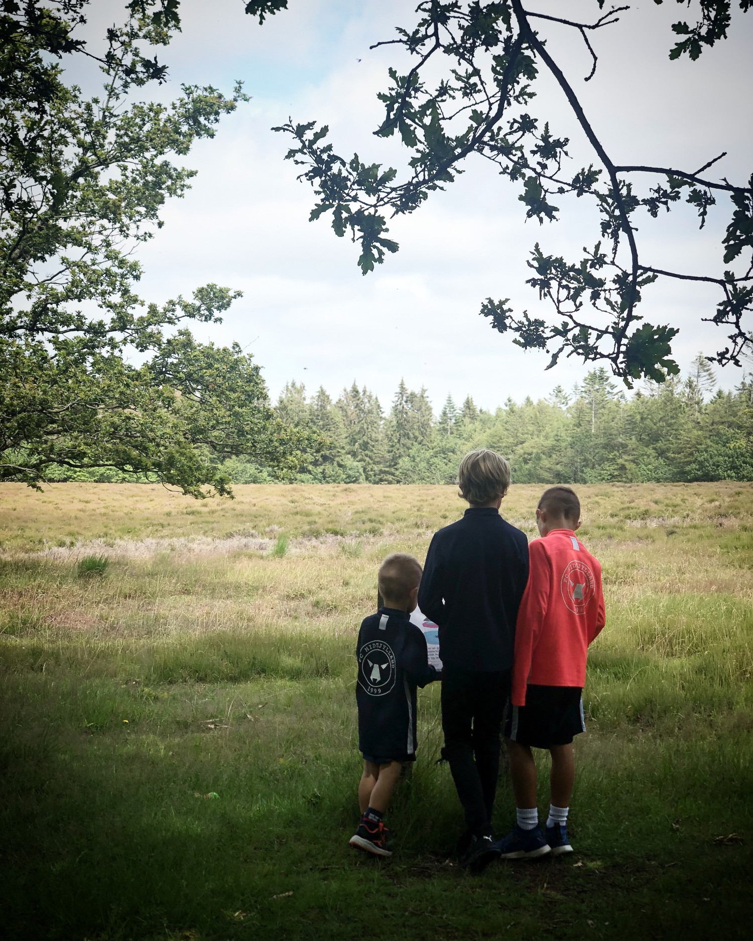 Diana og drengene i Løvbakkerne