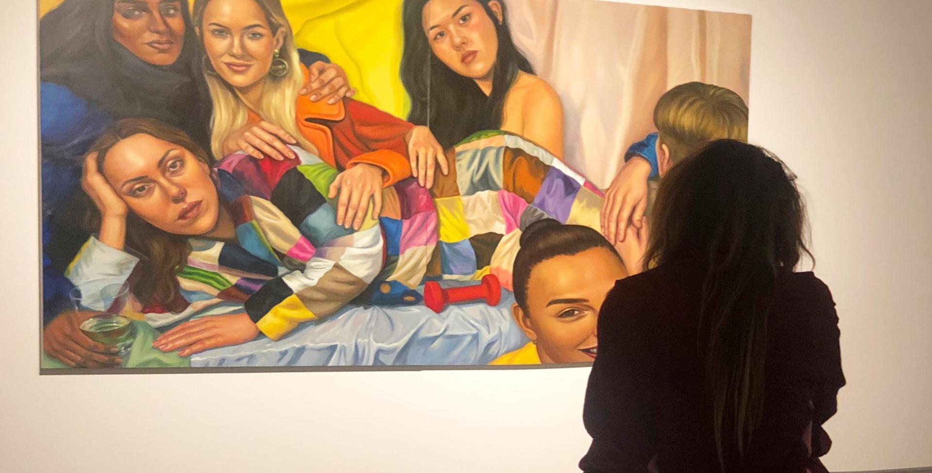 Diana i udstillingen på HEART
