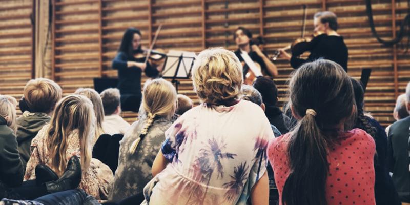 Ensemble MidtVest giver koncert for børn