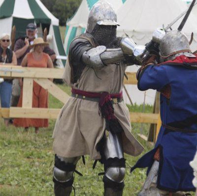 middelalder kæmpere
