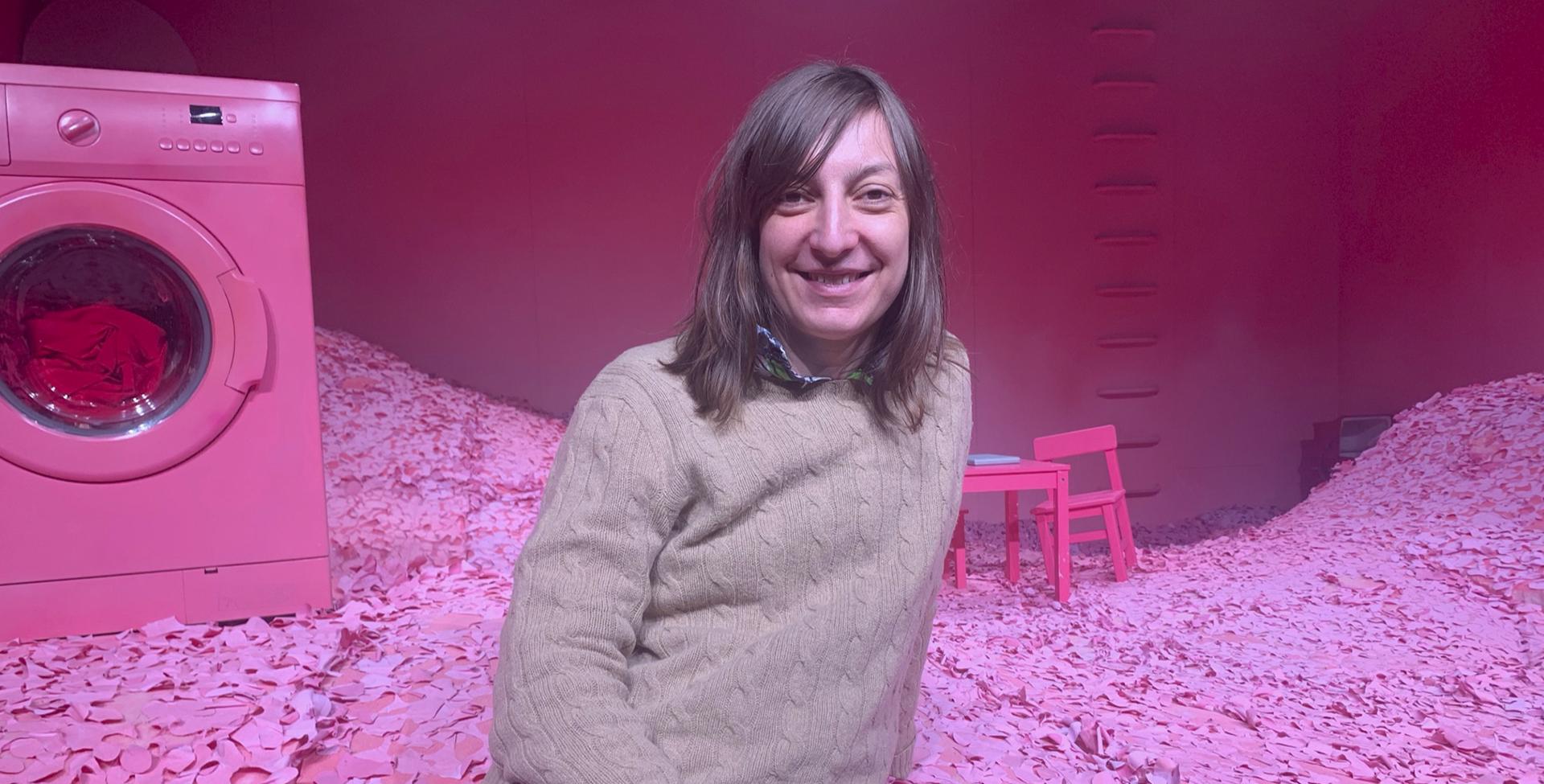 Anne Zacho Søgaard instruerer Mombie og hun glæder sig over at publikum får mulighed for at opleve forestillingen digitalt. Foto: Team Teatret